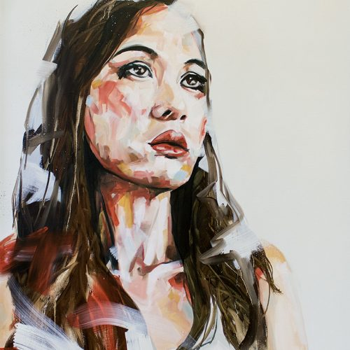 A Need in Me Portrait Painting