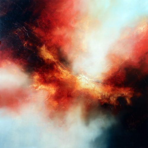 Ascend the Stars Abstract Painting