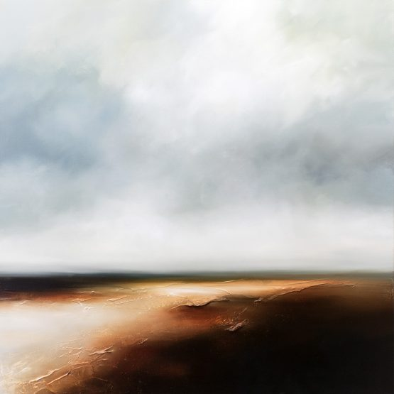 At the Edge of Seasons Seascape and Landscape Painting