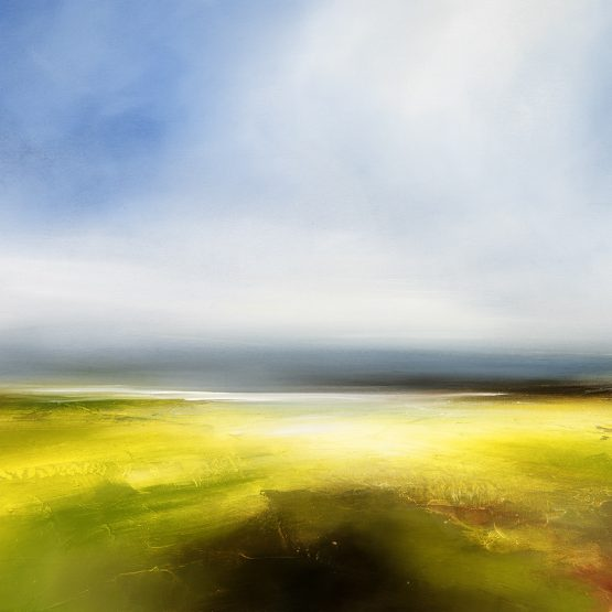 Beyond Dawn Seascape and Landscape Painting