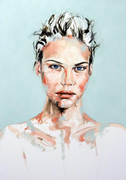 Beyond Tomorrow Portrait Painting