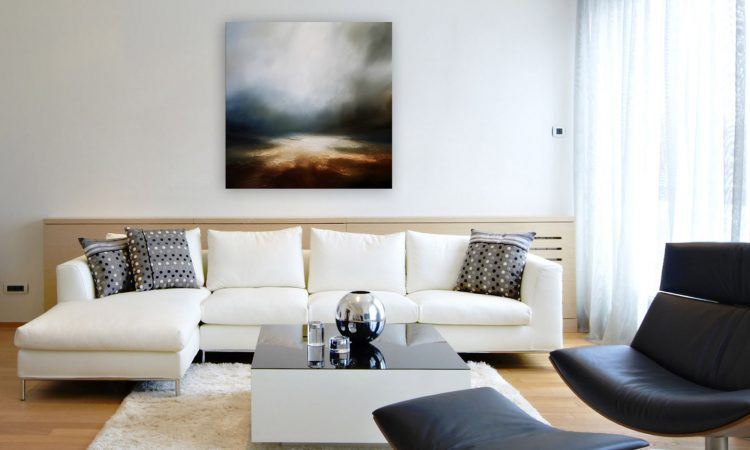 Beyond the Absent Seascape and Landscape Painting