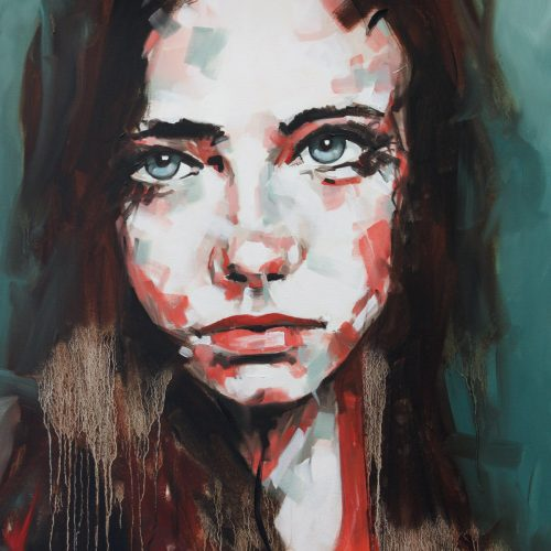 Bring Me Down Portrait Painting