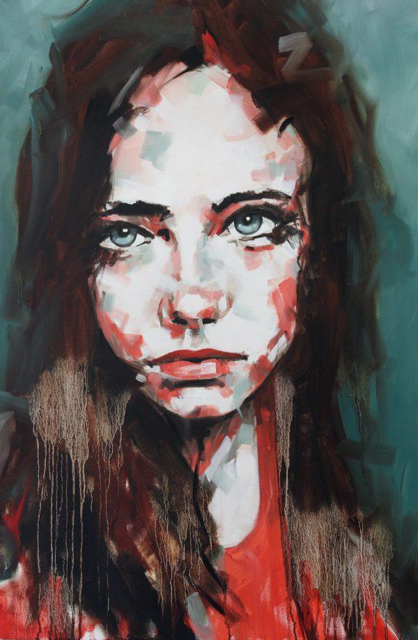 Bring Me Down Portrait Painting