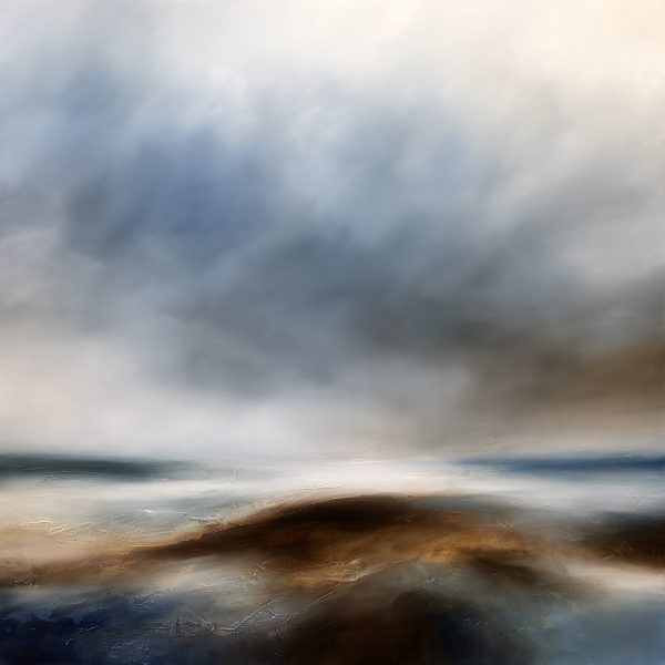 Broken Tide Seascape and Landscape Painting
