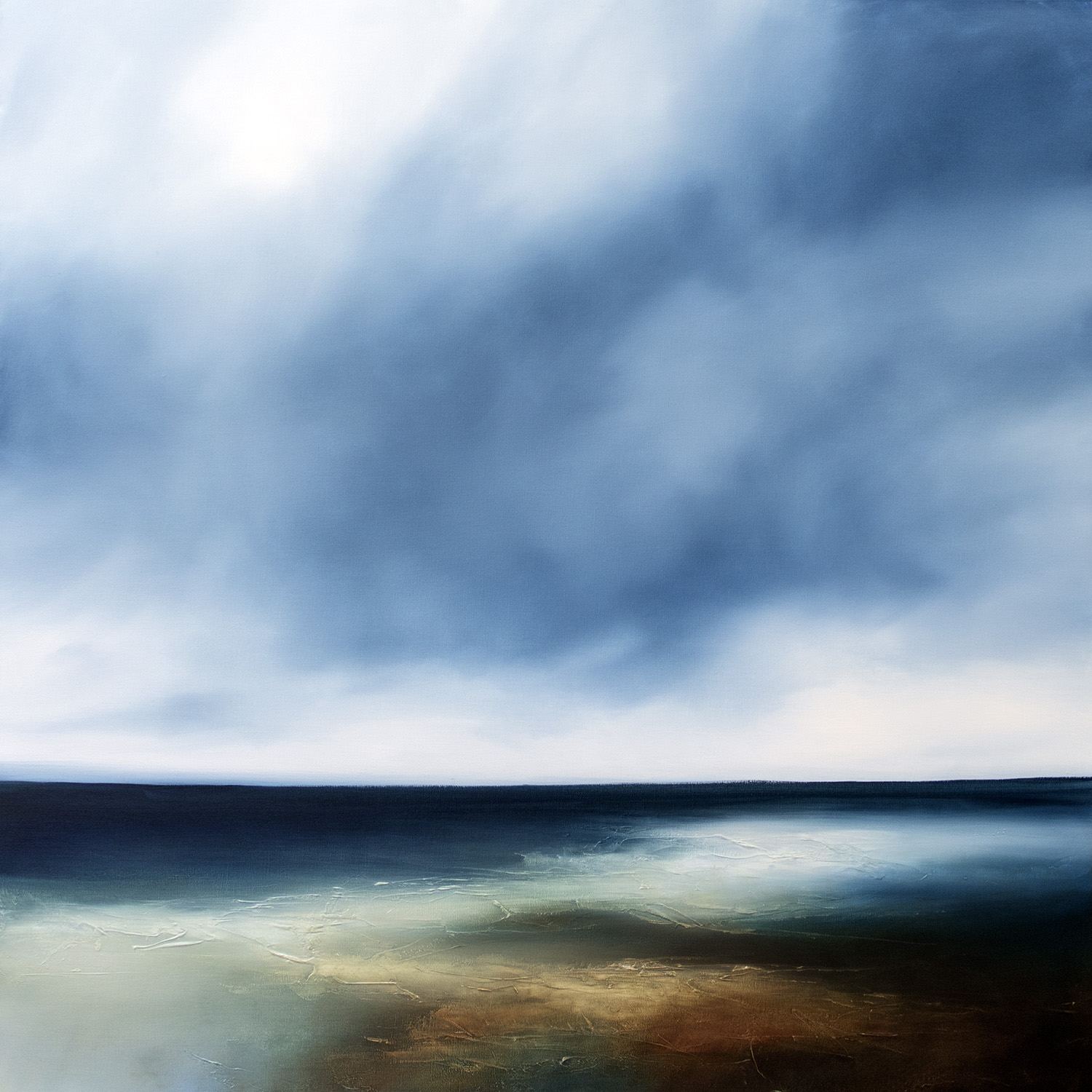 Coastal Drift Seascape and Landscape Painting