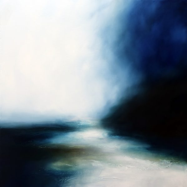 Downpour 1 Seascape and Landscape Painting