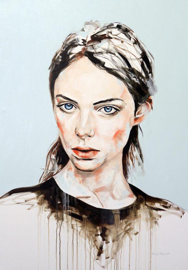 Dry the Rain Portrait Painting