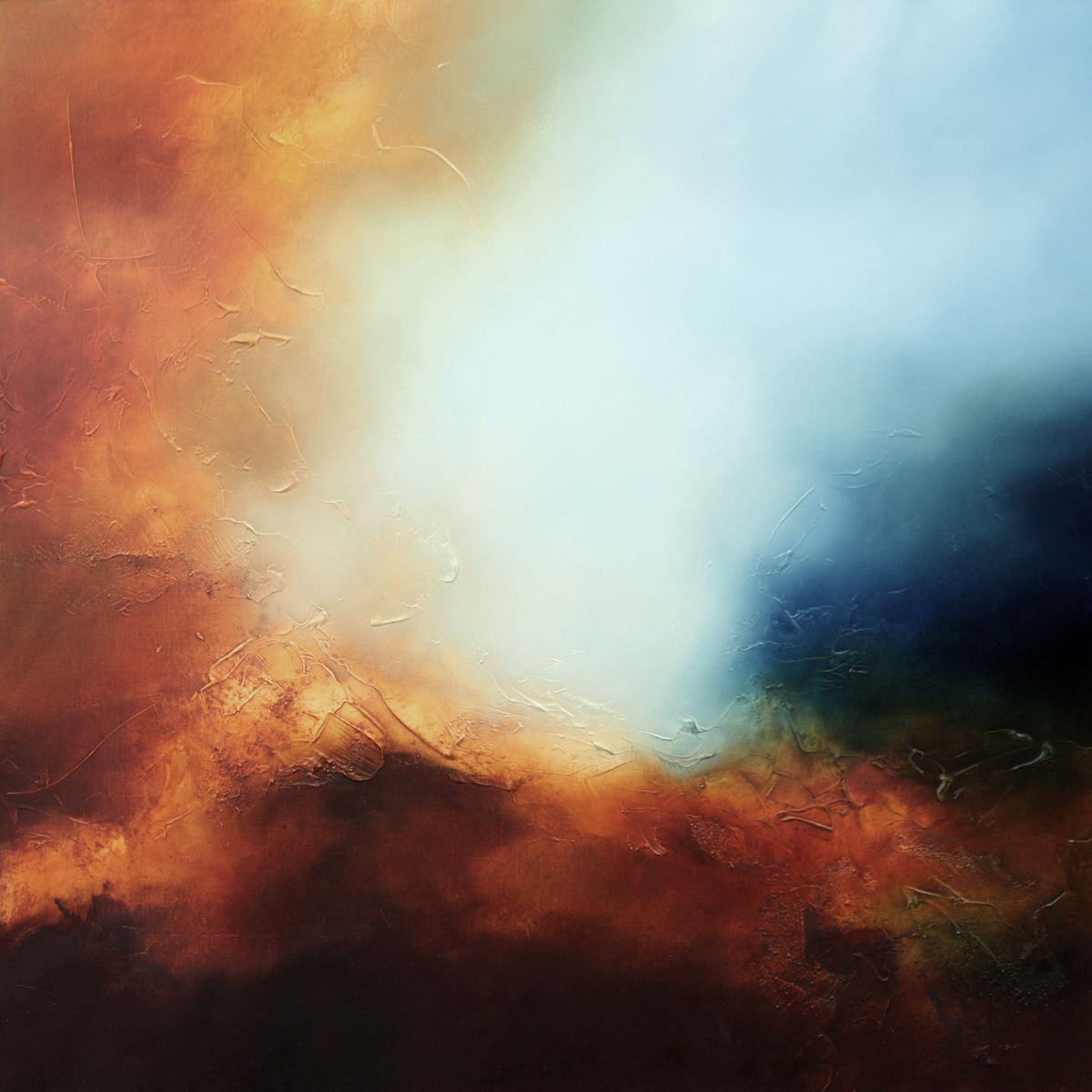 Eternal Dawn Abstract Painting