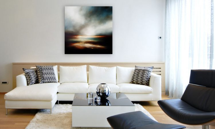 Eternal Whispering 2 Seascape and Landscape Painting