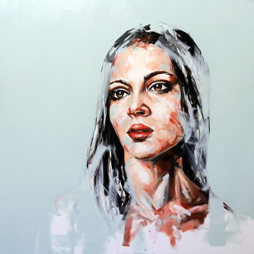 Fade Away Portrait Painting