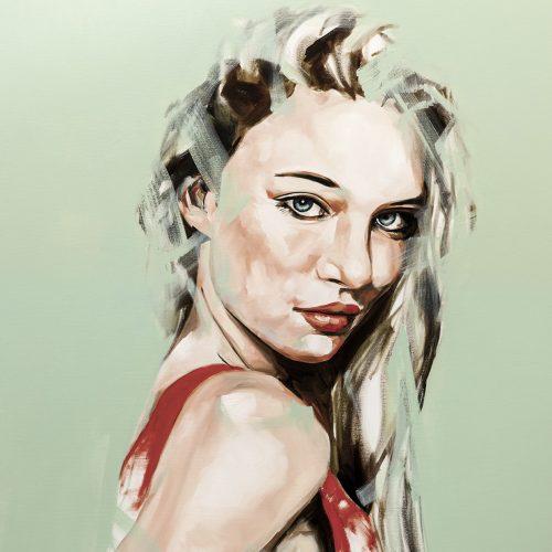 Faith Portrait Painting