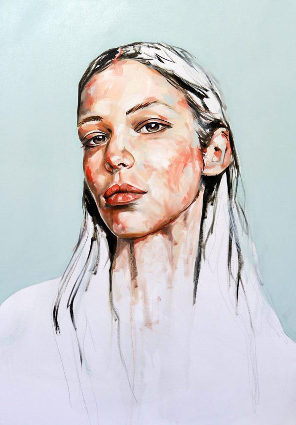 Get wild Portrait Painting