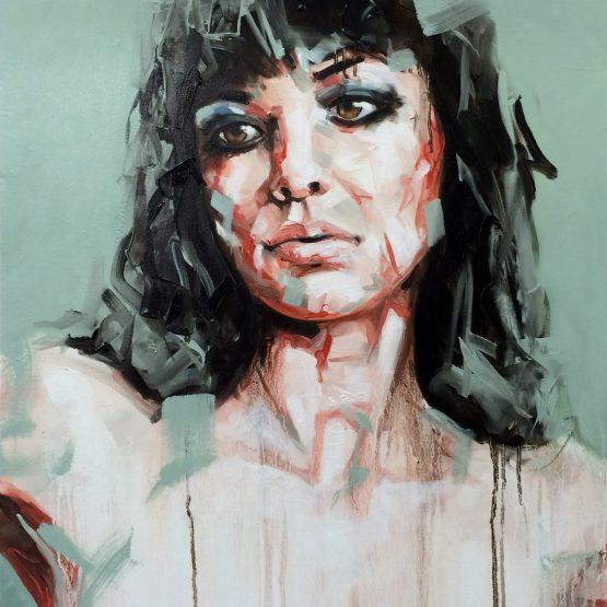 Help Me Lose My Mind Portrait Painting