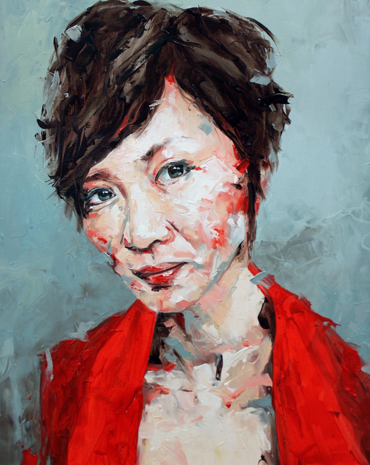 I Still Feel Portrait Painting