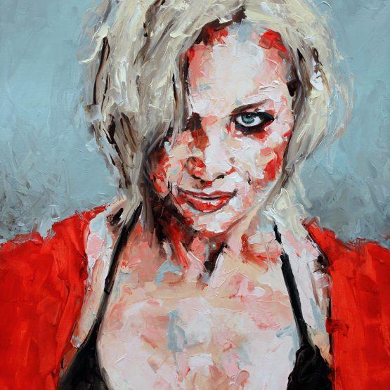 If You Wait Portrait Painting
