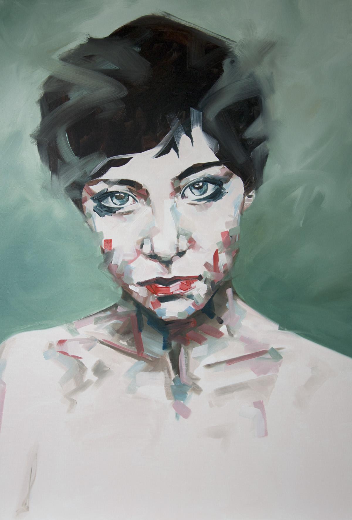 Into Dust Portrait Painting