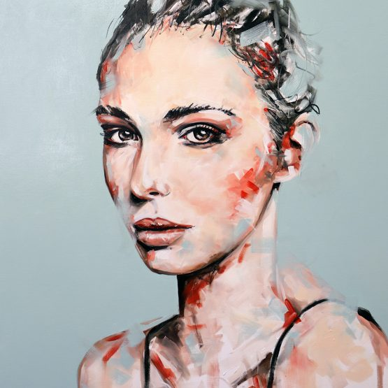 Night Shade Portrait Painting