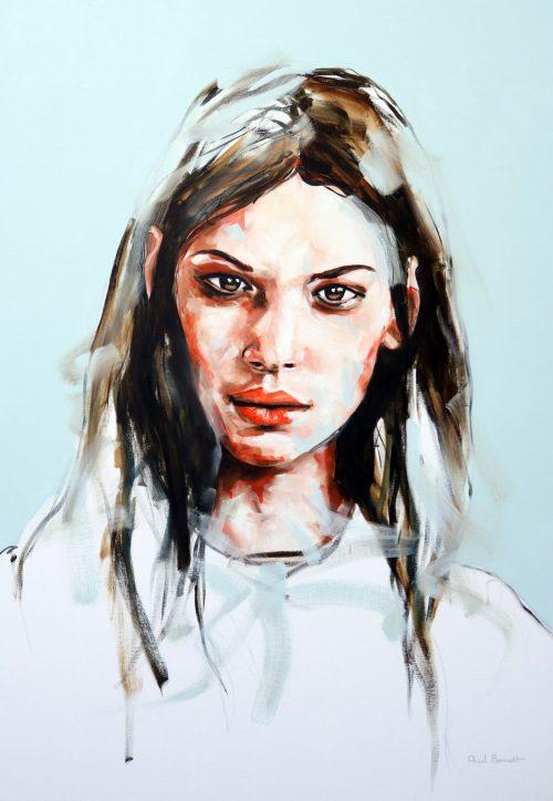 Nocturnal Dreams Portrait Painting