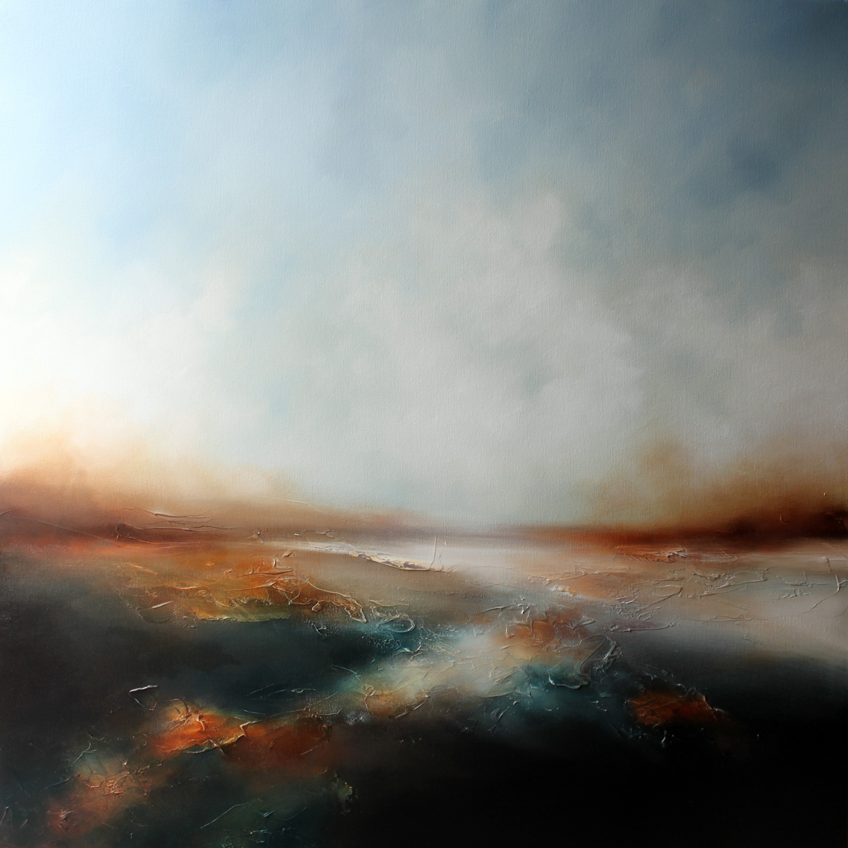 Now Til Never Seascape and Landscape Painting