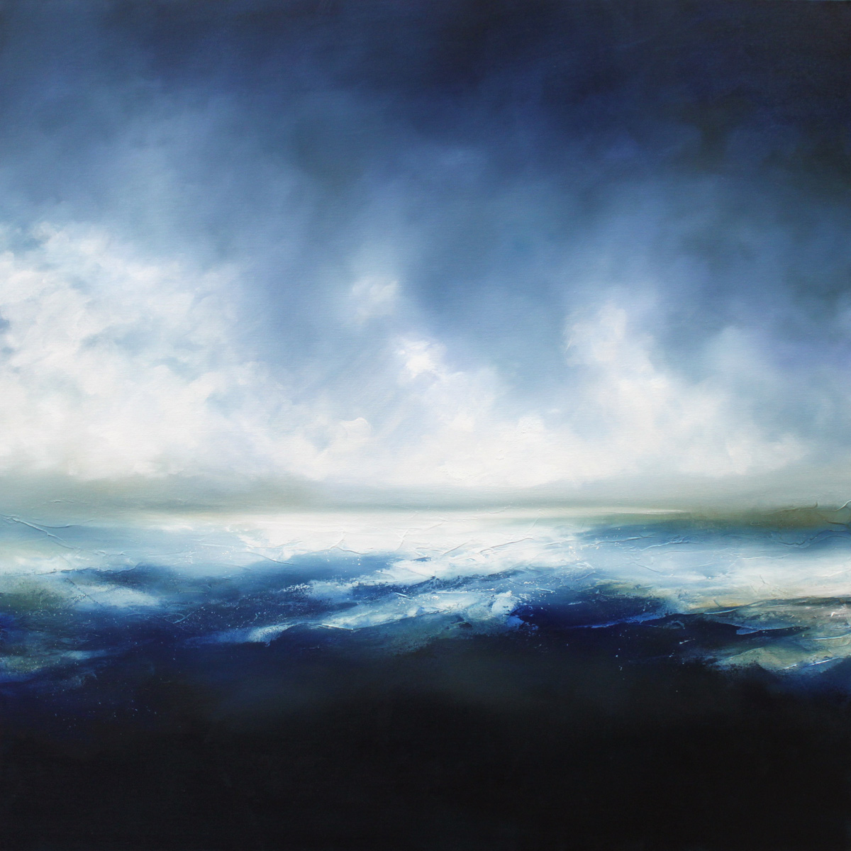 Ocean Scars 1 Seascape and Landscape Painting