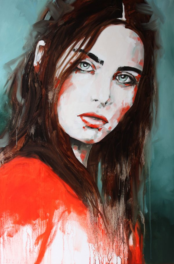 Once Upon a Time Portrait Painting