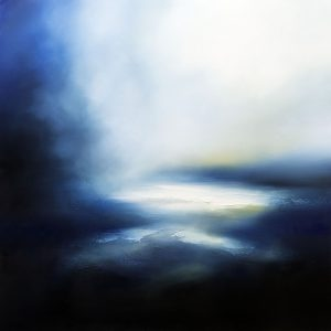 Remember the Rain Seascape and Landscape Painting