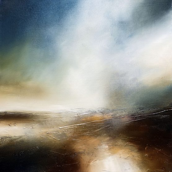 Sea of Ruin 1 Seascape and Landscape Painting