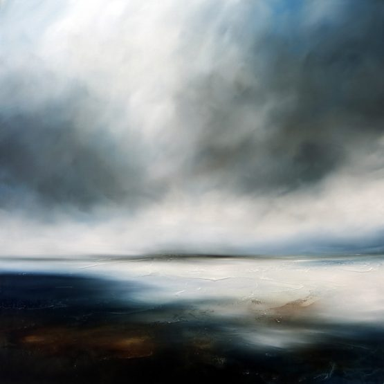 Seas of winter Seascape and Landscape Painting