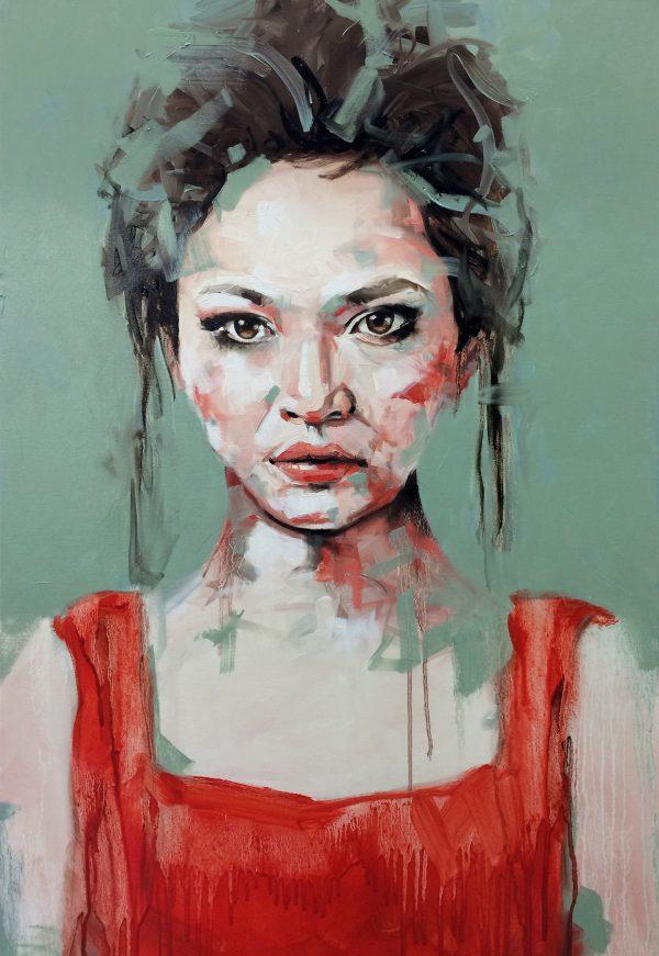 Serenade Portrait Painting