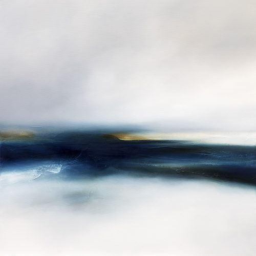 Silver Seas 1 Seascape and Landscape Painting