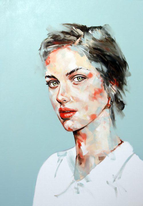 Something Renegade Portrait Painting