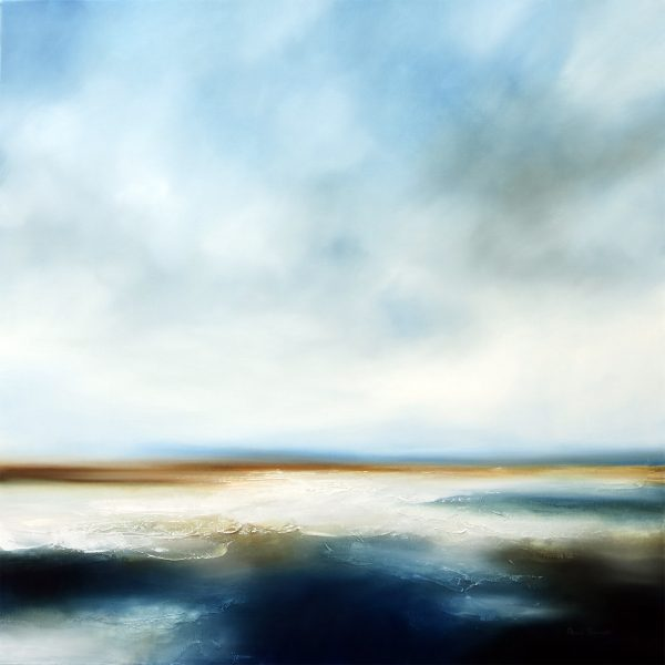 Swell Seascape and Landscape Painting