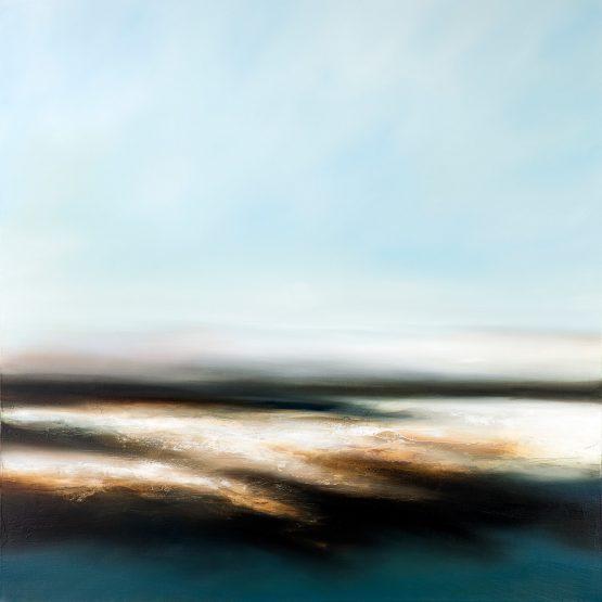 The Abandoned Sea seascape and landscape paitning