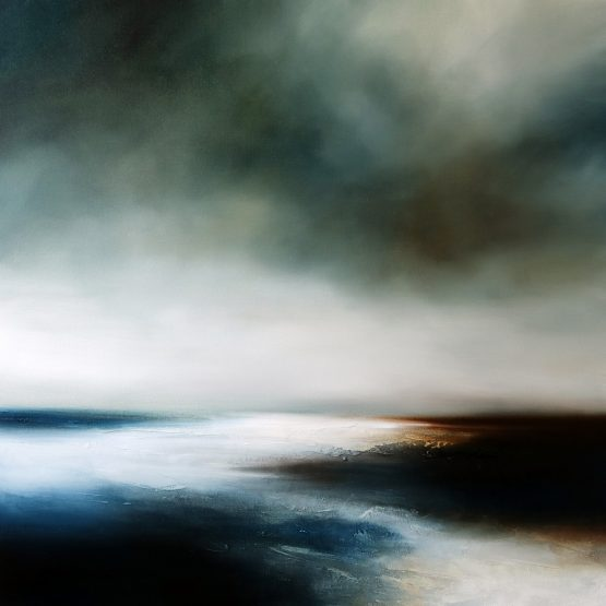 The Cold Light of Day Seascape and Landscape Painting