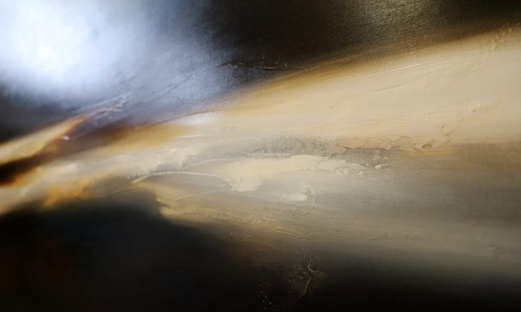 The Darkness Rises Seascape and Landscape Painting