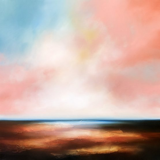 The Dawn Comes 2 Seascape and Landscape Painting