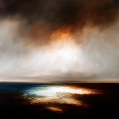 The Deep Rises Seascape and Landscape Painting