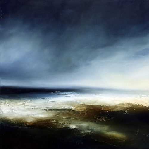 The Diminished Tides Seascape and Landscape Painting
