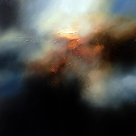 The Fading of the Light Abstract Painting
