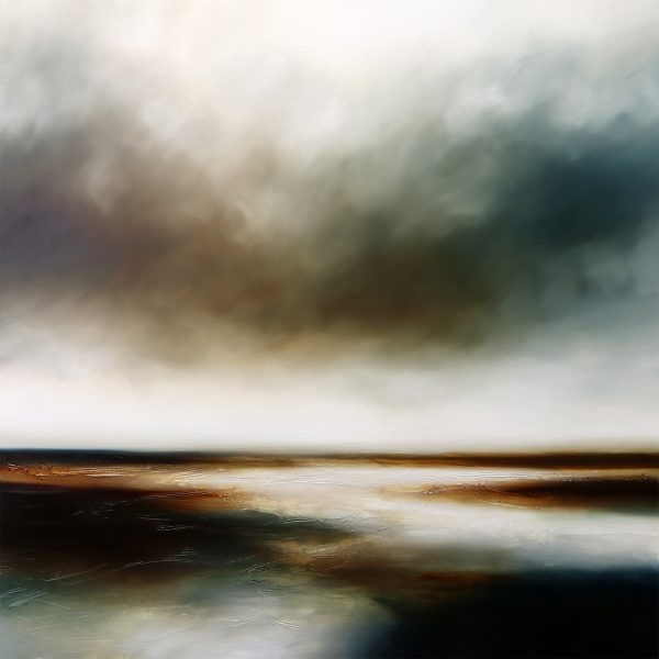The Fall of Day Seascape and Landscape Painting