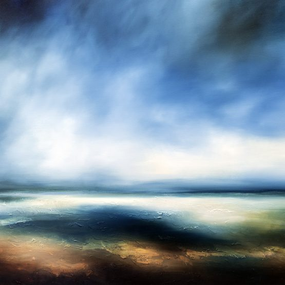The Forgotten Sea Seascape and Landscape Painting