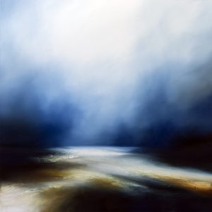 The Infinite Blue Seascape and Landscape Painting