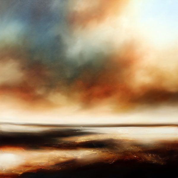The New Dawn Seascape and Landscape Painting