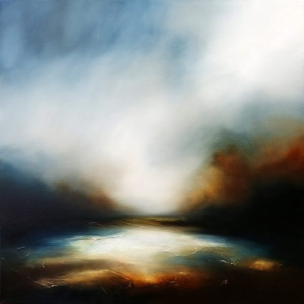 The Night's Embrace 1 Seascape and Landscape Painting