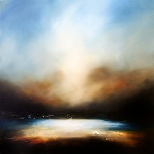 The Night's Embrace 2 Seascape and Landscape Painting