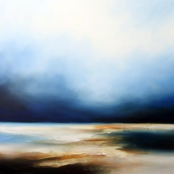 The Oceans Descent Seascape and Landscape Painting