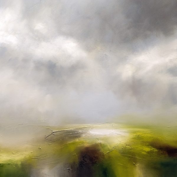 The Plains Seascape and Landscape Painting