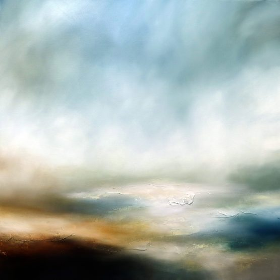 The Rise of the Morning Mists Seascape and Landscape Painting