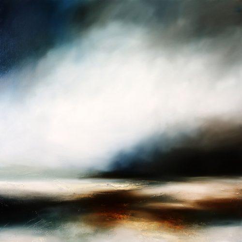 The Silent Shore Seascape and Landscape Painting